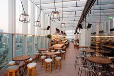 Iris rooftop bar & restaurant by Suzy Nasr, Dubai – UAE