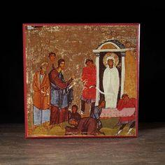 Resurrection of Lazarus (Sinai) Icon - F173 - Legacy Icons