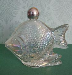 Rare Collectible Vintage Avon 'Sweet Honesty' Glass by EdenKitsch, $11.25
