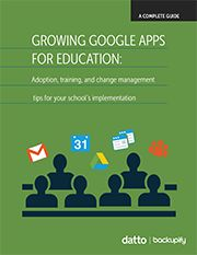 Growing Google Apps for Education: Increase Google Adoption at Your School