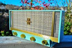 hi fi stereo table radio
