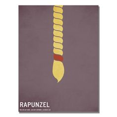 Rapunzel by Christian Jackson Graphic Art on Wrapped Canvas