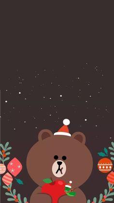 je t'aime Lines Wallpaper, Bear Wallpaper, Pattern Wallpaper, Wallpaper Backgrounds, Cute Disney Wallpaper, Cute Cartoon Wallpapers, Wallpaper Iphone Cute, Christmas Phone Wallpaper, Holiday Wallpaper