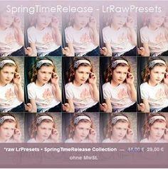 *raw LrPresets • SpringTimeRelease Collection - Angebot für das Preset vom 12. - 19.06.2014!