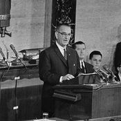 For LBJ, The War on Poverty Was Personal
