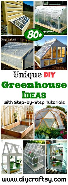 80+ DIY Greenhouse Ideas with Step-by-Step Tutorials