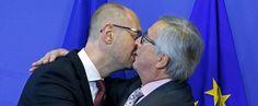 In beeld: internationale knuffeldag, de heerlijkste knuffels van politici - Mensen - Knack.be