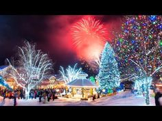 Many refer to it as Christmas Village USA and it's located in Leavenworth Washington just about 30 miles east of Seattle. Christmas Town, Christmas Vacation, Merry Christmas, Christmas Lights, Christmas Scenery, Magical Christmas, Holiday Travel, Winter Christmas, Christmas Decorations