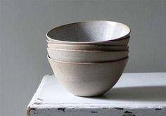 Stoneware bowls by Sue Paraskeva