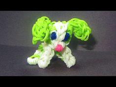 Rainbow Loom PUPPY DOG Charm: How to make a CUTE Doggy / Puppy Dog Tutorial - YouTube