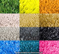 artificial turf colours