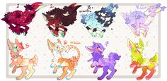 Jawn and Reid's Species Bonanza (2 left!!!) by PhloxeButt on deviantART