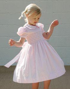 smocking - every little girl should have at least one dress like this