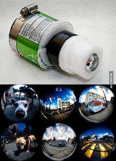 DIY Soda Can Fisheye Lens