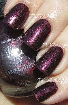 Nicole by OPI - Shoot for the Maroon...in love with this color!