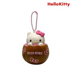 Hello Kitty Chocolate Egg Squishy With Pink Bow >>> Visit the image link more details. Note:It is affiliate link to Amazon.