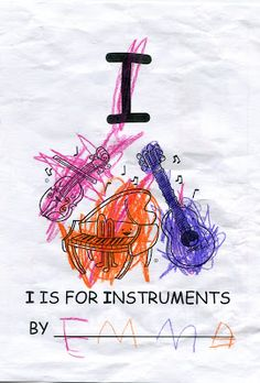 Pure Emma: I is for INSTRUMENTS