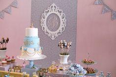 Fraldas & Rabiscos: Festa de aniversário: Cinderela Shabby Chic
