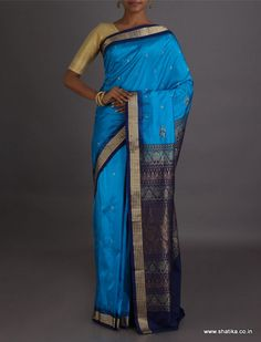 Richa Feast Of Corn Intricate #SambalpuriSilkSaree