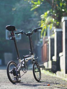 Foldable Bicycle, Folding Bicycle, Brompton, Mini Bike, Air Compressor, Bike Accessories, Cycling Bikes, Cool Bikes, Oregon