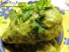 Bobbi's Kozy Kitchen:  Poblano Chicken (going to use as the base to try to copy Lazy dog's Chicken Poblano with crispy polenta cakes....need to add white corn, and chop chicken)