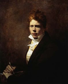 """rococo-prince: """"Sir David Wilkie Sir David Wilkie, 1785 - 1841. Artist (Self-portrait) about 1804 - 1805 Wilkie was born in the village of Pitlessie in the parish of Cults, Fife. Here, he gazes..."""