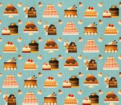 Gaia Bordicchia Illustrations: La Patisserie French pastries