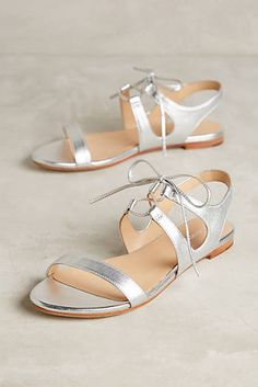 Discover sale shoes at Anthropologie, including sale booties, sneakers, heels, oxfords & more. Shoes Flats Sandals, Bike Shoes, Sandals Outfit, Shoe Boots, Heels, Silver Sandals, Beautiful Shoes, Shoe Sale, Summer Shoes
