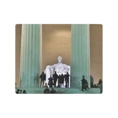 #Lincoln Memorial Night Visitors Metal Print - #country gifts style diy gift ideas