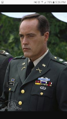 Blue Sky Movie, Powers Boothe, Sports Personality, Men In Uniform, Famous Men, I Fall In Love, Actors & Actresses, Sexy Men, Pop Culture