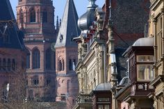 Mainz, Germany // Kaiserslautern (the city) is located at the state of Rhineland-Palatinate, & Mainz is the capital of Rhineland-Palatinate. A day trip worth visiting & is located only less than 1 hour away from us.