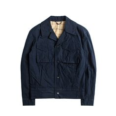 매료 - N E W (M-44 Field Jacket - Navy)