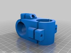 This is a clamp ( 29 mm diameter, Bolt I develop for hold my fishfinder on my Kayacat. I printed in Petg for better water resistance. 3d Printer Designs, 3d Printer Projects, Cnc Projects, Useful 3d Prints, Print 3d, Pattern Sketch, 3d Modelle, 3d Design, Wood And Metal