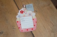 Gisela #graham #cupcake #luggage tag  bnwt,  View more on the LINK: 	http://www.zeppy.io/product/gb/2/121940805147/