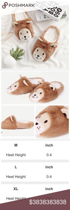 3dca9c676 Adorable plush slippers for women! COMING SOON! Adorable plush slippers