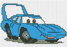 Cross stitch*<3* Point de croix SCHEMA CAR