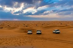 Dune bashing is a form of off-roading on sand dunes