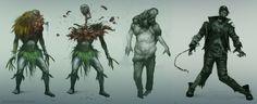 ArtStation - Dead Island (character pack), Artur Sadlos