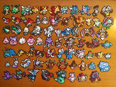 Pokémon hama mini beads by PumonePixelArt