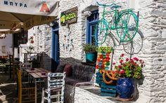 #Stadt #Chora auf #Kythnos © Jürgen Garneyr Mykonos, Santorini, Greece, City, Vacation