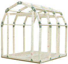 Basics Shed Kit w/ Barn Style Roof 10x12 Shed Plans, Shed Plans 12x16, Free Shed Plans, Metal Storage Sheds, Storage Shed Kits, Diy Storage, Shed Roof, House Roof, 2x4 Basics