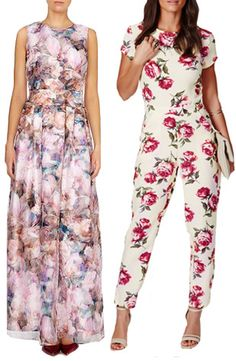Amazing It us all about Florals for Wedding Guest Dresses this Summer