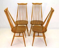 Vintage Ercol Furniture From Retroandvintagefurniture.Ercol Table and Chairs From Herts Based COmpany Herts-London UK deliveries.