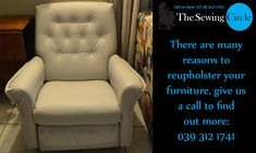 There are many reasons to reupholster your furniture, here are just a few:  You can save money:  New furniture can often be quite expensive. You will often find that your old furniture still has a couple years of life in it. In these cases you can save your money by reupholstering instead of replacing.  Can Preserve Antiques:  If you have any antique furniture that needs some help, reupholstering can be an effective way of preserving these pieces.  For any more information please don't…
