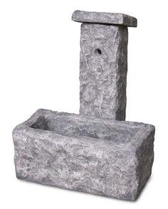 fontana da giardino Pusteria col. antichizzato