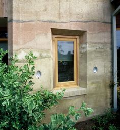Rammed Earth Wall & Window