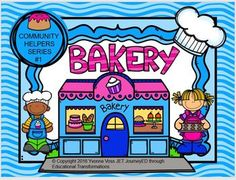 Read and Write Around the Room Community Helpers Series #1 Bakery
