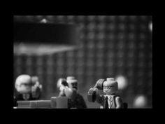 Love this movie the satire is killing me , Stop-motion Lego Dr. Strangelove Part 1