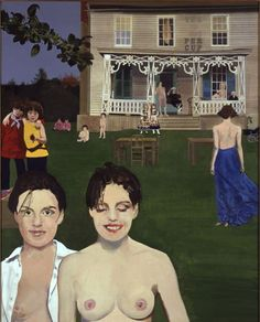 Peter Blake, The Twins in their Tea Garden (2nd Version), 1995-99 - Pictify - your social art network