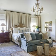 Looking for Traditional Bedroom ideas? Browse Traditional Bedroom images for decor, layout, furniture, and storage inspiration from HGTV. Traditional Bedroom, Traditional House, Traditional Interior, Modern Traditional, Classic Interior, Best Interior Design, Bedroom Classic, Interior Decorating, Cozy Bedroom